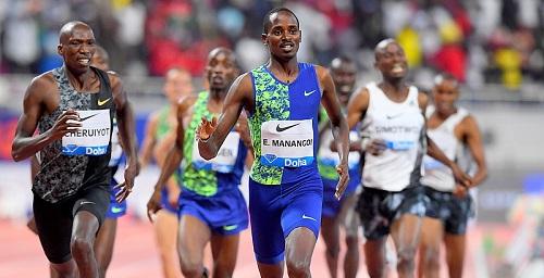 Mondiali Doha,  forfait nei 1500 metri del campione del mondo Elijah Manangoi
