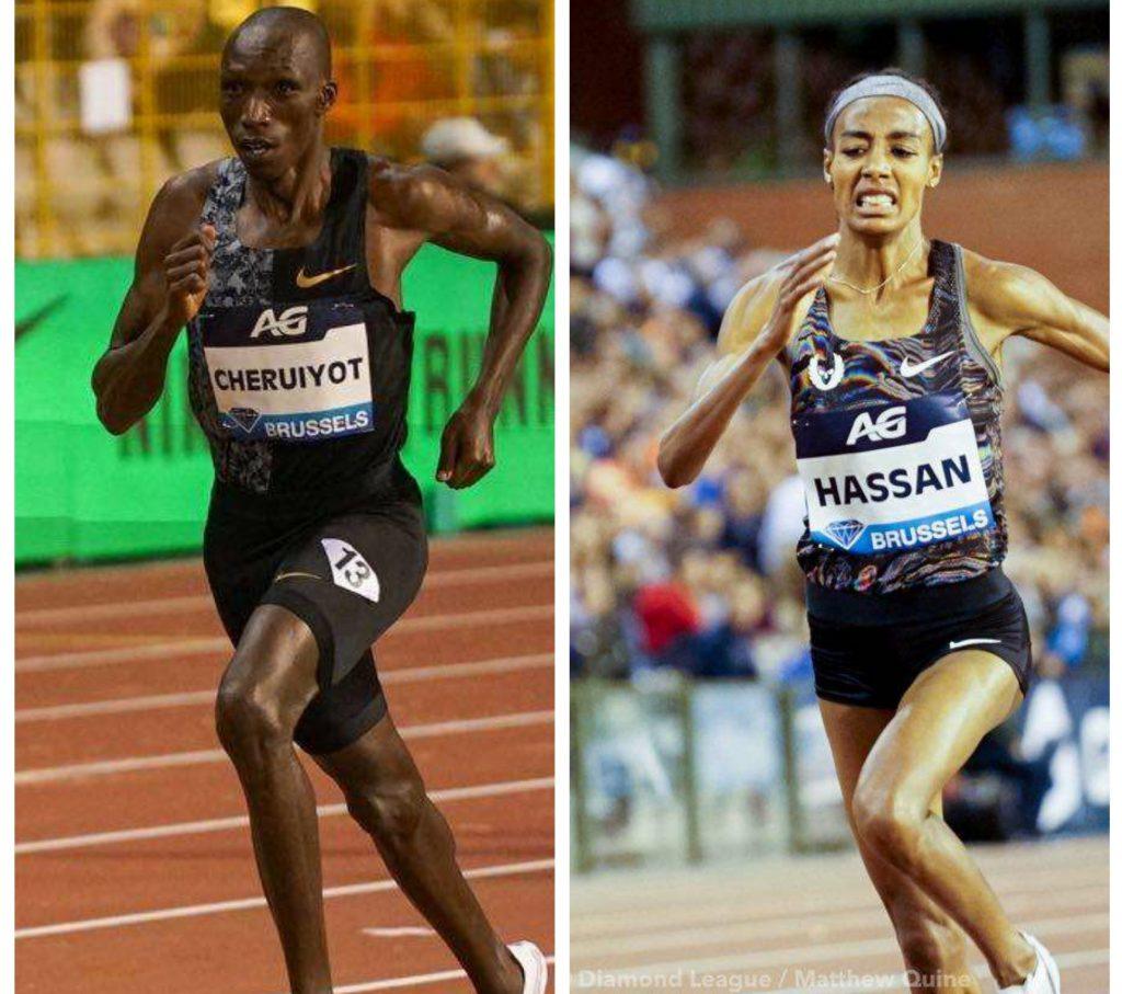 Bruxelles Live: Timothy Cheruiyot rimane il capo dei 1500 metri, Sifan Hassan vince i 5000 metri