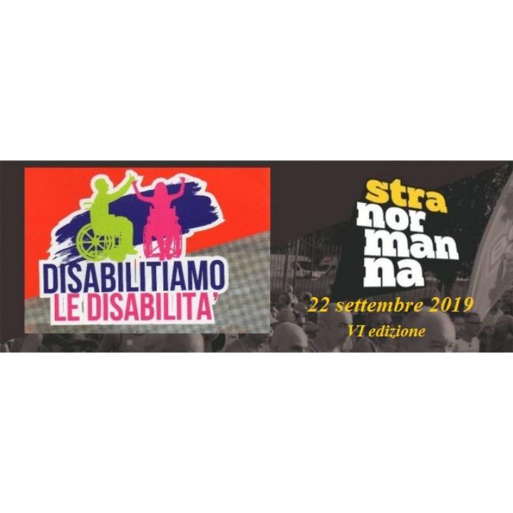 """VI STRANORMANNA """"Disabilitiamo la Disabilità""""  AVERSA: si corrono dieci chilometri di valore."""