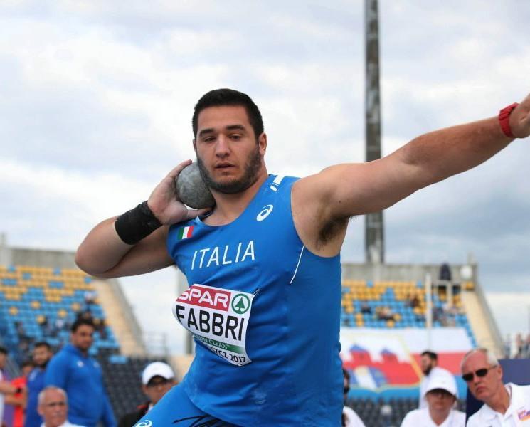 Leonardo Fabbri bene sopra i 20 metri nel peso in Repubblica Ceca