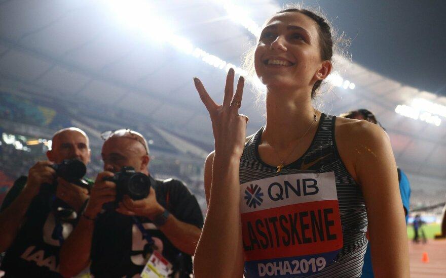 Mondiali Doha: Maria Lasickiene vince il terzo titolo mondiale consevutivo nell'alto