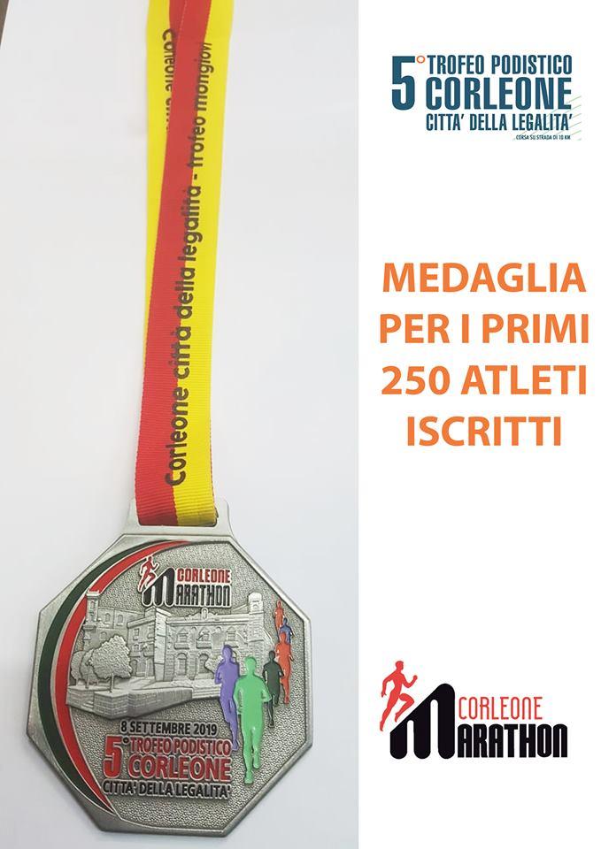 Podismo: 5 Trofeo Podistico Corleone Città della Legalità e BioRace insieme per una domenica spettacolare.
