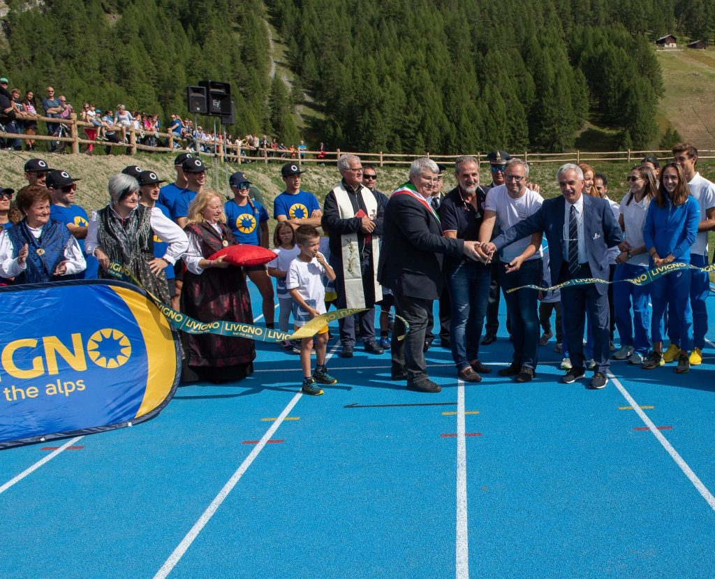 LIVIGNO: THE GAMES START NOW. LA PISTA DI ATLETICA CORONA UN SOGNO