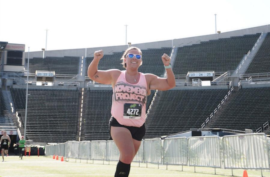 Maratoneta imbroglia per la 7^ volta durante una corsa