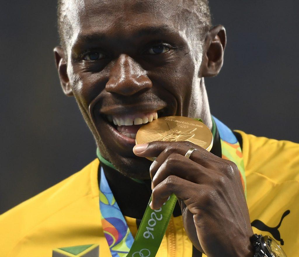 Usain Bolt protagonista dell'inaugurazione dello stadio Olimpico di Tokyo 2020