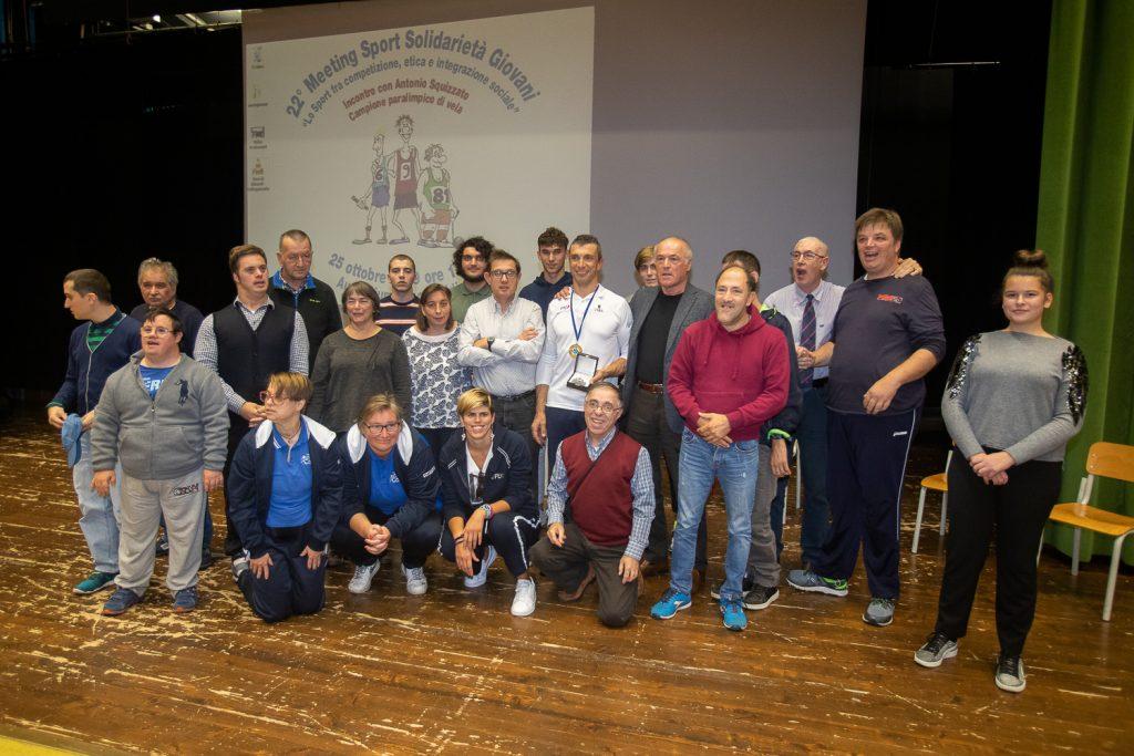 Antonio Squizzato, studenti e persone con disabilità protagonisti del 22° Meeting Sport Solidarietà Giovani