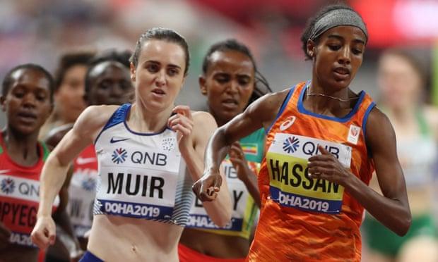 """Squalifica Salazar: Laura Muir contro Sifan Hassan: """"una nuvola nera incombe sulla sua straordinaria vittoria nei 1500 metri"""""""