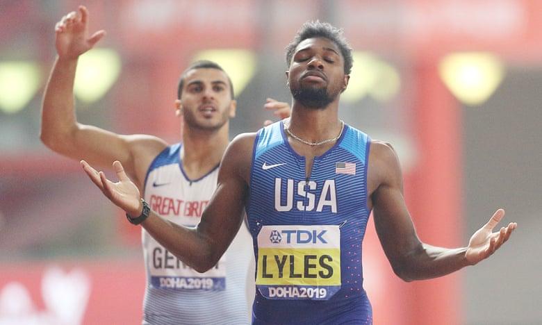 "Mondiali Doha: un ""normale""  Noah Lyles vince il titolo nei 200 metri"