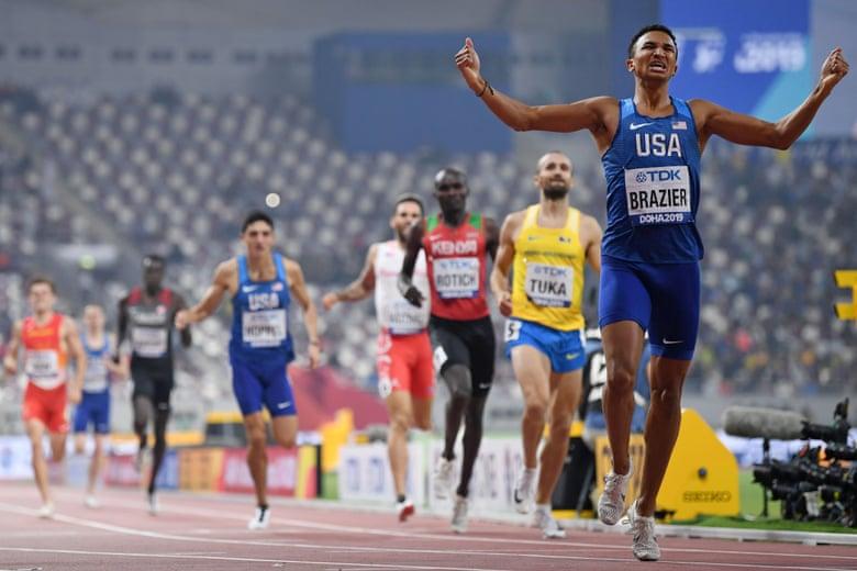 Mondiali Doha: Donavan Brazier straordinario negli 800 metri, record dei campionati e statunitense