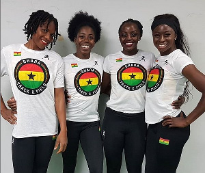 Staffettiste del Ghana costrette a chiedere l'elemosina