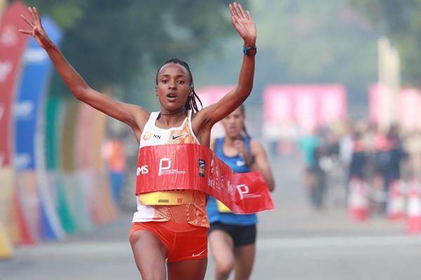 Cade il record della Mezza maratona di Airtel Delhi- i risultati