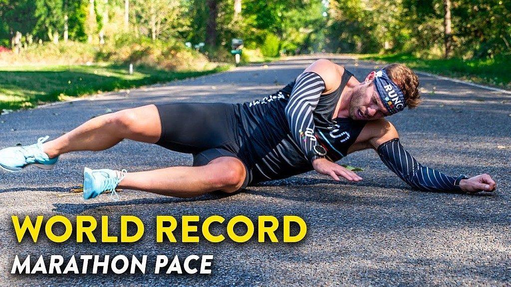 L'assurdo video del mezzofondista Symmonds che cerca di correre al ritmo di Kipchoge del sub 1:59