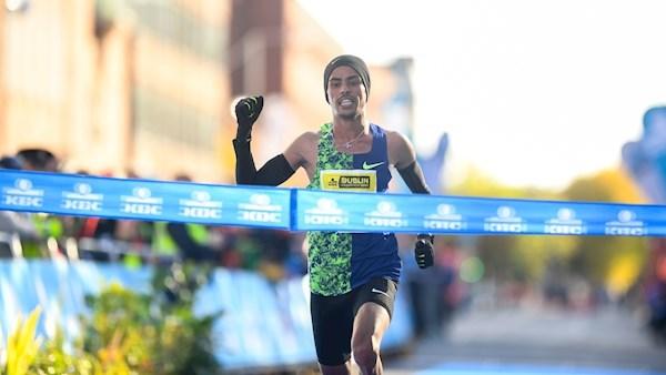 Battuto il record della Maratona di Dublino dal marocchino El-Goumri