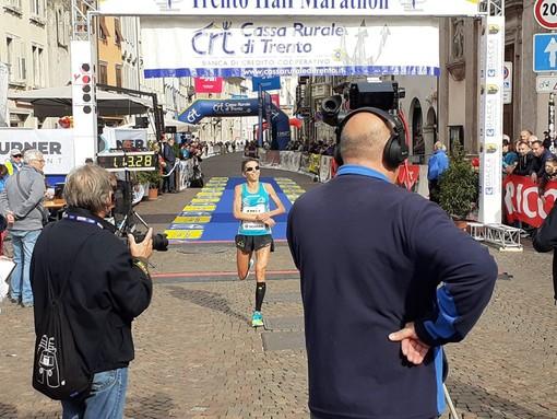 Catherine Bertone diventa  l'italiana più veloce di sempre all'Half Marathon di Trento