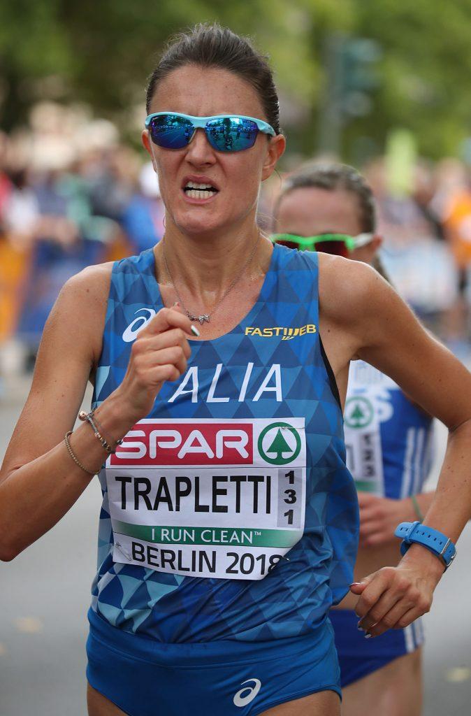 Marcia tricolori Grottammare: Valentina Trapletti e Leonardo Dei Tos vincono la 20 km.