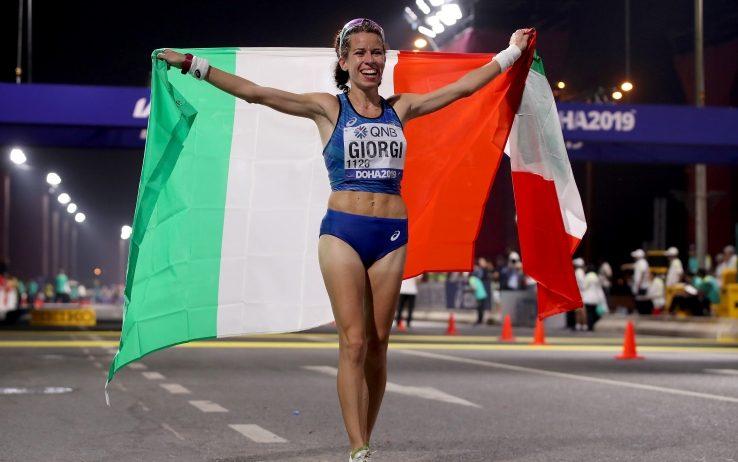 Mondiali Doha: ecco il medagliere, per l'Italia lo splendido bronzo di Eleonora Giorgi nella 50 Km. di marcia