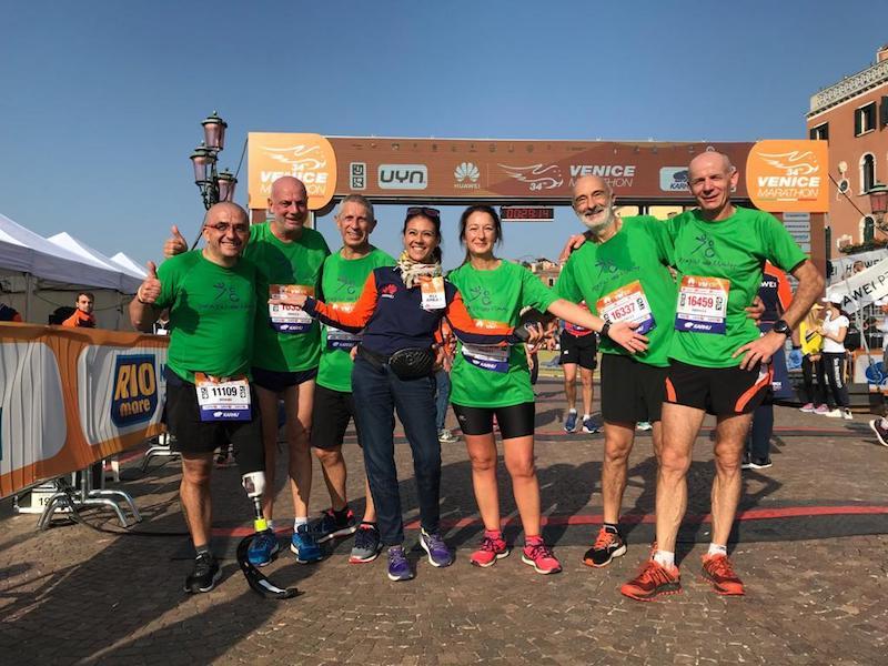Disabili No Limits: raccolti 7908 euro durante la Venicemarathon