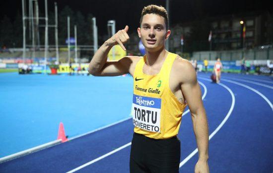 Filippo Tortu si da un 8 per la stagione 2019