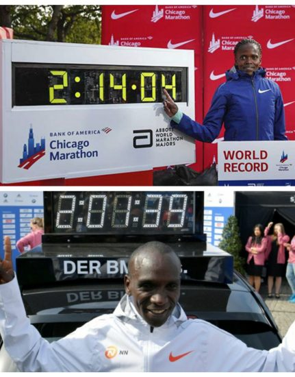 Kenya storico, ora detiene tutti i record mondiali sia nella maratona che nella mezza!