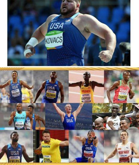 Kipchoge tra le 11 nomination IAAF per l'Atleta maschile dell'anno - ma non c'è posto per i lanciatori di peso che hanno sfiorato i 23 metri