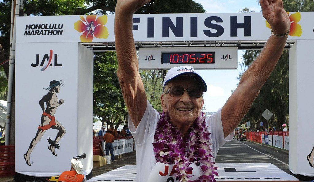 Muore a 100 anni la donna più anziana che ha partecipato ad una maratona