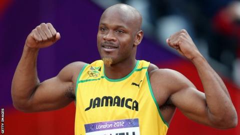 Asafa Powell si concentra sui Giochi Olimpici di Tokyo 2020