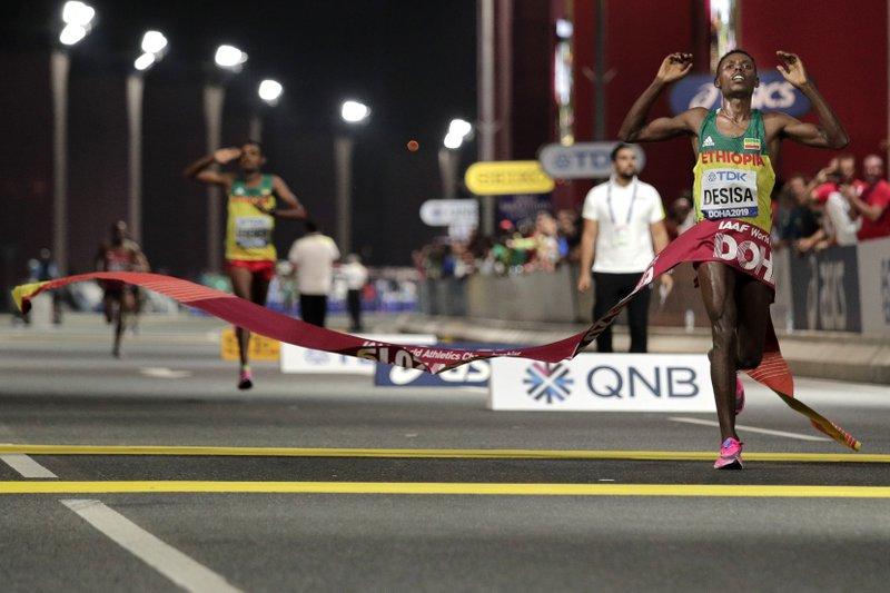 Ultim'ora Maratona New York: si ritira il campione in carica Lelisa Desisa