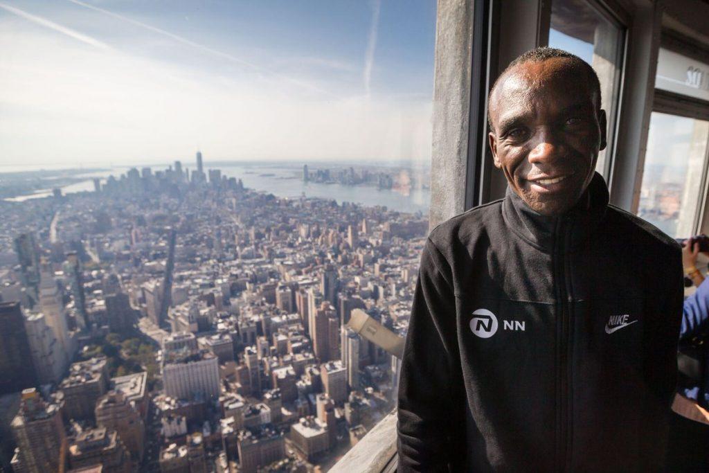 """Kipchoge da New York annuncia: """"a primavera correrò la prossima maratona"""""""