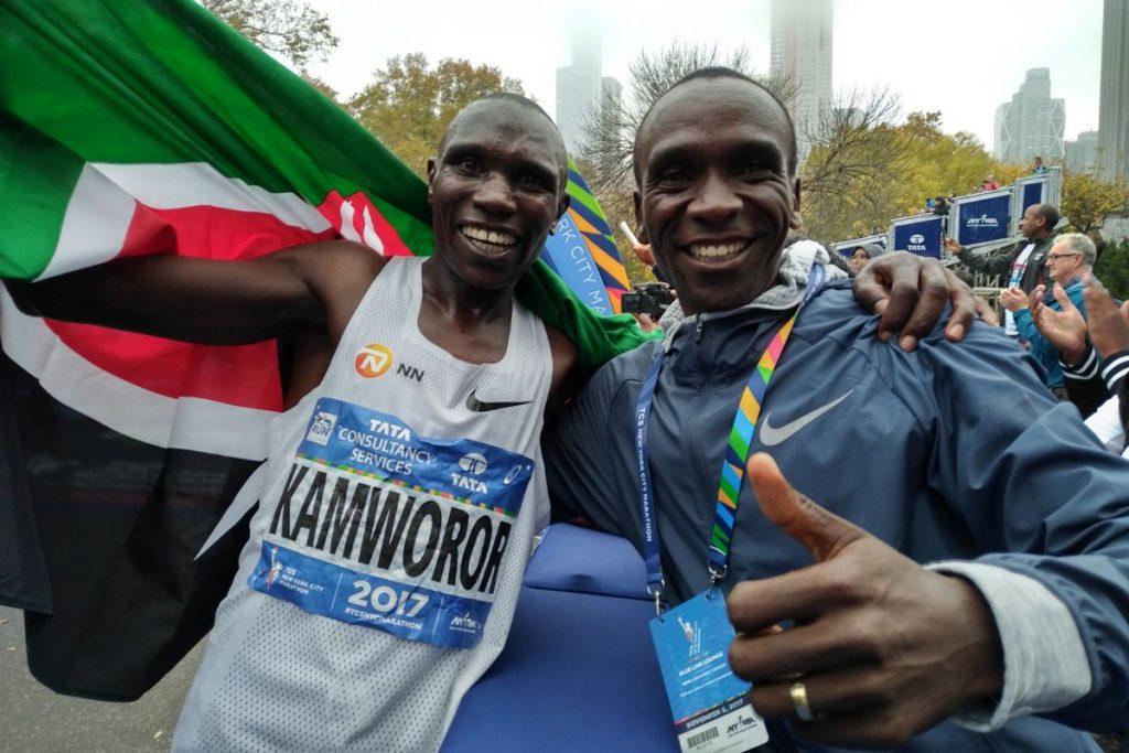 Geoffrey Kamworor, pupillo di Kipchoge e Joyciline Jepkosgei vincono la Maratona di New York 2019