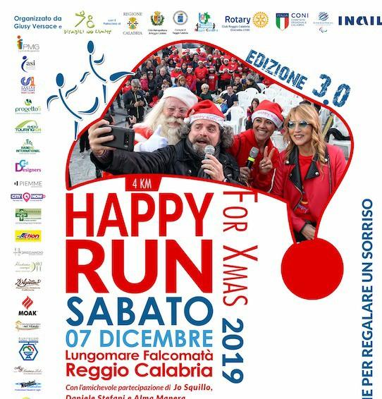 """Giusy Versace lancia la terza edizione della """"Happy Run for Christmas"""""""