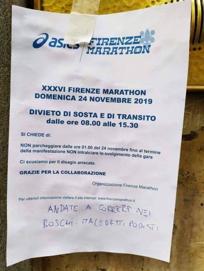 firenze marathon insulti 1_15150543