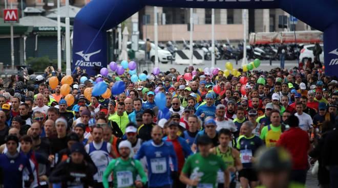 ANNULLATA la Genova City Marathon a causa del maltempo