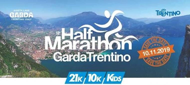 Garda Trentino Half Marathon domenica 10 novembre a Riva del Garda