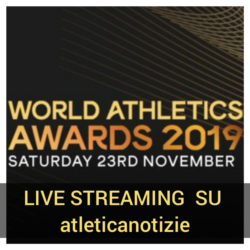 """Il Live streaming sabato 23 novembre del """"Miglior atleta mondiale del 2019"""""""