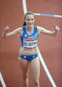 Federica Del Buono correrà domenica la Milano21 Half Marathon
