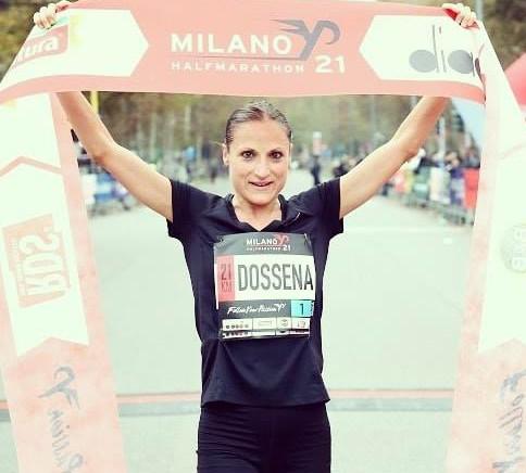 Sara Dossena vince alla grande la Milano21 Half Marathon