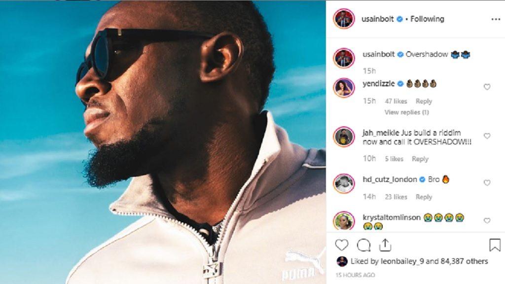 """Bolt risponde a Blake: """" oscurato, ma di cosa sta parlando? """""""