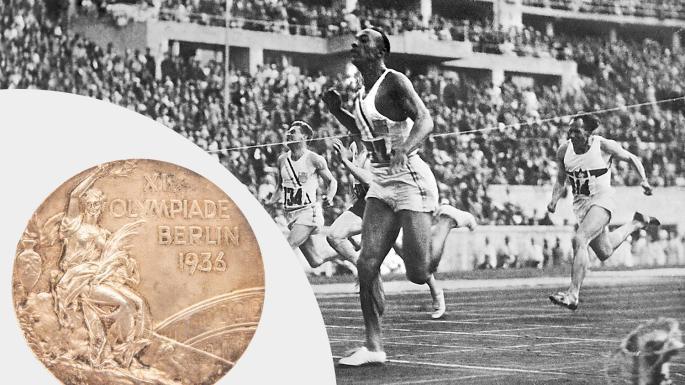 Venduta per 615.000 dollari una medaglia d'oro olimpica di Jesse Owens