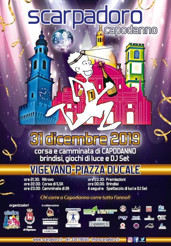 Sarà un Capodanno di corsa a Vigevano!