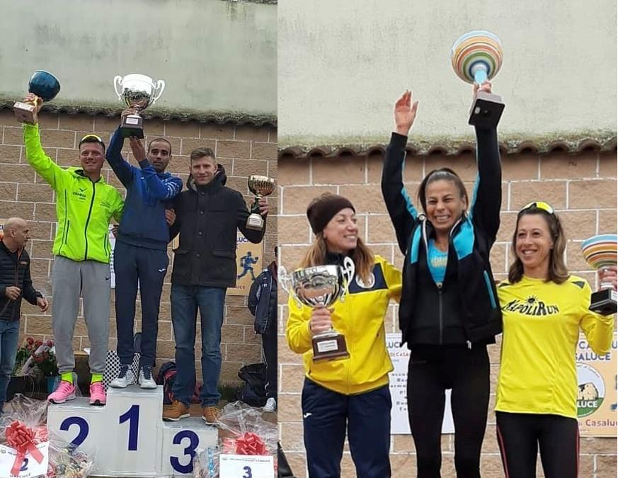 """""""Trofeo Città di Casaluce"""": Lamghali  vince la terza edizione, tra le donne s'impone Lamula"""