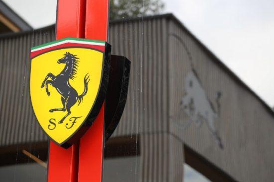 11.07.2019- Ferrari and RedBull Logo