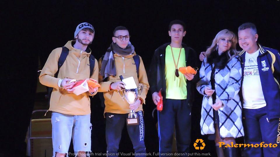 Azzurra Agrusa e Salvatore Pisciotta  vincono il Trofeo Podistico M.SS. Immacolata a Montelepre 2019 BioRace