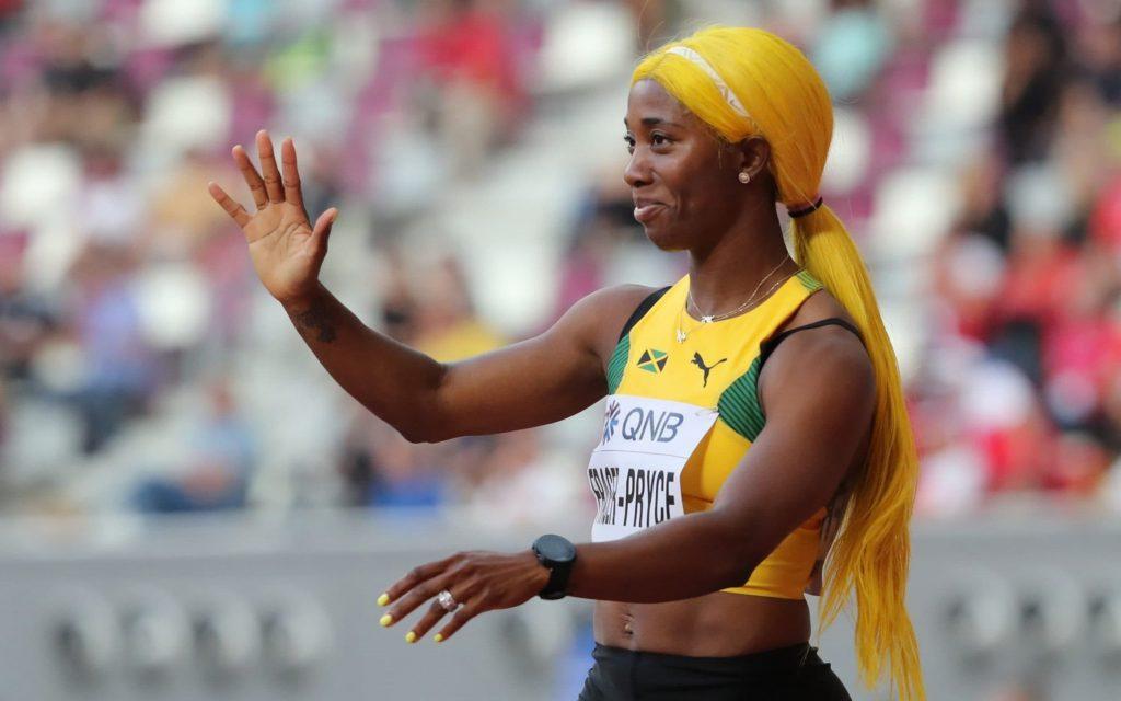 Shelly-Ann Fraser-Pryce ha confermato che correrà sia i 100 che i 200metri alle Olimpiadi di Tokyo