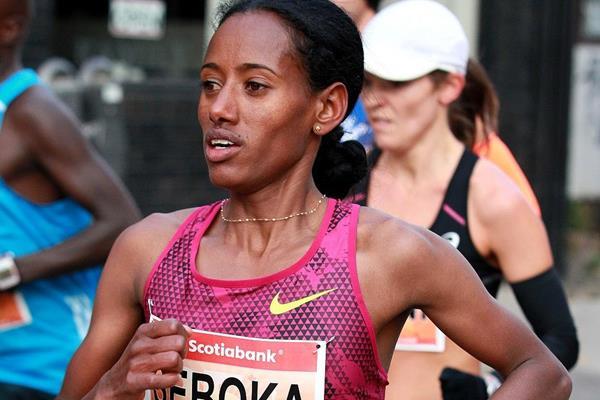 Domenica Chepchirchir affronta Seboka nella Guangzhou Marathon  in Cina