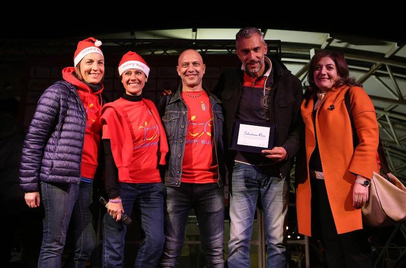 """Happy Run for Christmas"": in 600 al via per aiutare la disabilità!"