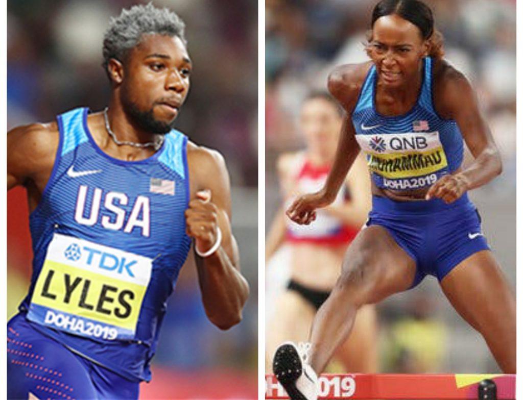 Noah Lyles e Dalilah Muhammad sono gli  atleti statunitensi dell'anno