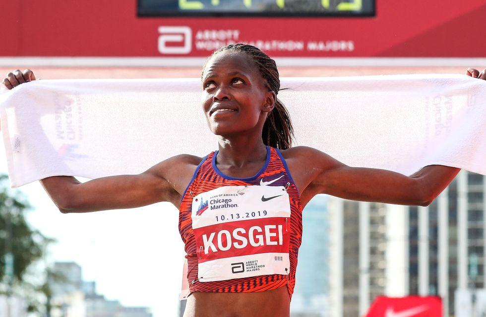 """Il """"Best"""" dell'atletica 2019: Brigid Kosgei scuote tutti a Chicago stracciando il record del mondo della maratona"""