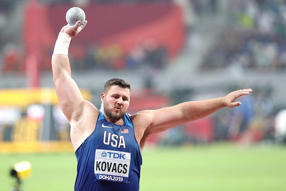 Joe Kovacs votato come migliore prestazione individuale dell'anno- La classifica