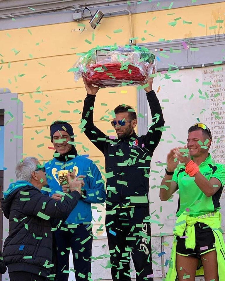 """La 10 Km.""""Strapoggiomarinese"""": successo per Ricatti e Principe - Il Team """"Terra dello Sport"""" per tre volte sul gradino più alto del podio"""