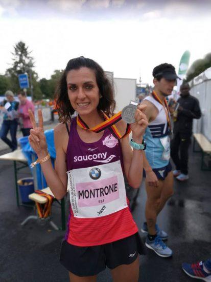 Teresa Montrone  e il marocchino Youssef Sbaai vincono la Maratona di Reggio Emilia-Città del Tricolore